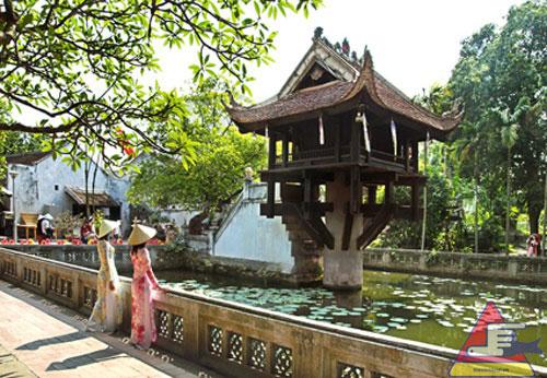 tour du lịch hà nội 1 ngày - chùa một cột