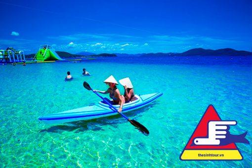 Ngày 1: Tour du lịch Nha Trang 2 ngày 3 Đêm - tham quan đảo Hòn Tâm