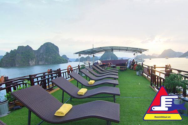 Tour du lịch Hạ Long 3 ngày 2 đêm du thuyền golden bay 2