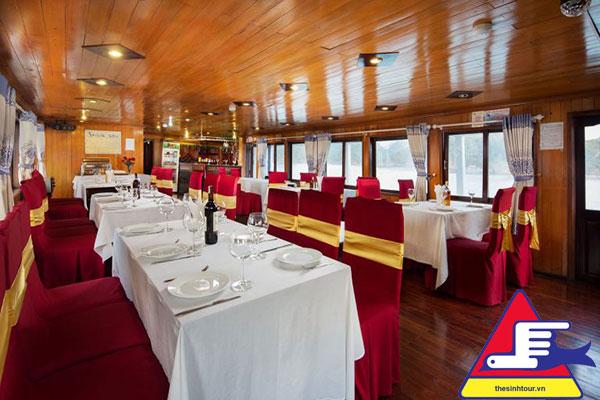 tour du thuyền hạ long 2 ngày 1 đêm golden bay